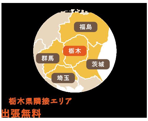 栃木県隣接エリアに対応しております出張無料でお見積もりにお伺いします!